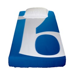 International Baccalaureate Logo Fitted Sheet (single Size) by abbeyz71