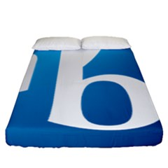 International Baccalaureate Logo Fitted Sheet (queen Size) by abbeyz71