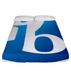 International Baccalaureate Logo Fitted Sheet (california King Size) by abbeyz71
