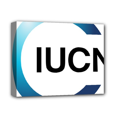 Logo Of International Union For Conservation Of Nature Deluxe Canvas 14  X 11  (stretched)