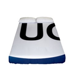 Logo Of International Union For Conservation Of Nature Fitted Sheet (full/ Double Size) by abbeyz71