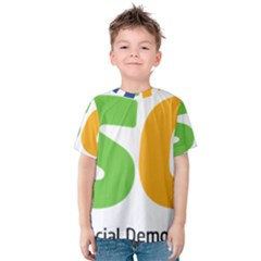 Logo Of Brazil Social Democratic Party Kids  Cotton Tee