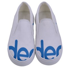 Logo Of Brazil National Labour Party Kids  Canvas Slip Ons