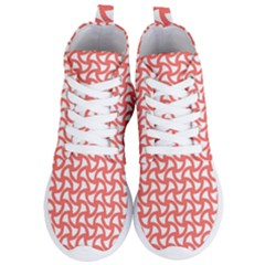 Odd Shaped Grid Women s Lightweight High Top Sneakers