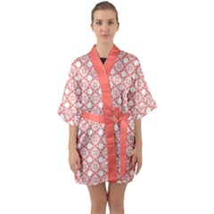 The Web  Quarter Sleeve Kimono Robe by TimelessFashion