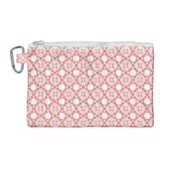 The Web  Canvas Cosmetic Bag (large)