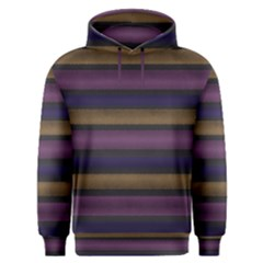 Stripes Pink Yellow Purple Grey Men s Overhead Hoodie by BrightVibesDesign