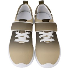Almond Buff To Black Men s Velcro Strap Shoes