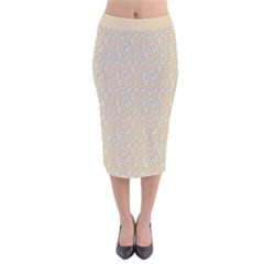Atomic Effect  Velvet Midi Pencil Skirt by TimelessFashion