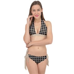 Between Circles  Tie It Up Bikini Set