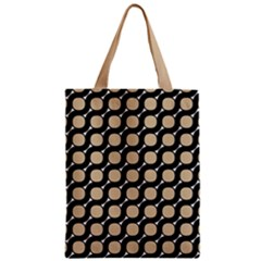 Between Circles Zipper Classic Tote Bag
