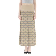 Brick Wall  Full Length Maxi Skirt by TimelessFashion