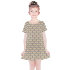 Brick Wall  Kids  Simple Cotton Dress by TimelessFashion