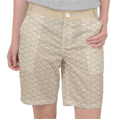 Circly Waves  Pocket Shorts by TimelessFashion