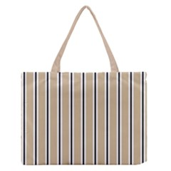 Classic Stripes  Zipper Medium Tote Bag