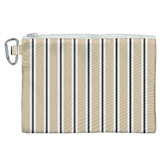 Classic Stripes  Canvas Cosmetic Bag (xl) by TimelessFashion