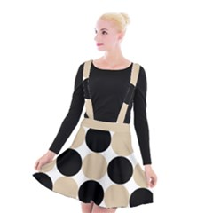 Dots Effect  Suspender Skater Skirt by TimelessFashion
