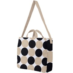 Dots Effect  Square Shoulder Tote Bag by TimelessFashion