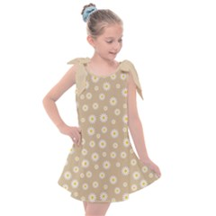 Field Of Daisies  Kids  Tie Up Tunic Dress by TimelessFashion
