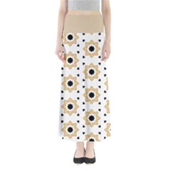 Flower Star Full Length Maxi Skirt by TimelessFashion
