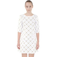 Heart Lines Pocket Dress by TimelessFashion