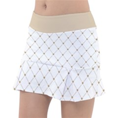 Heart Lines Tennis Skirt