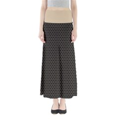 Hexagon Effect  Full Length Maxi Skirt by TimelessFashion
