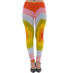 Retro Graffiti Art Nouveau Lightweight Velour Leggings by genx