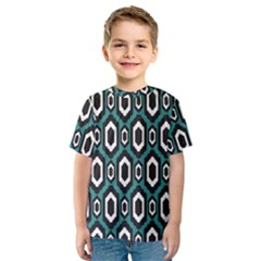Decorative Pattern Kids  Sport Mesh Tee