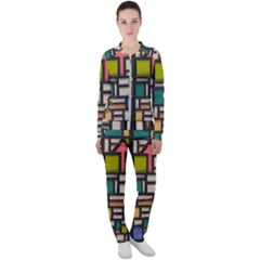 Door Stained Glass Stained Glass Casual Jacket And Pants Set by Pakrebo