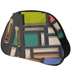 Door Stained Glass Stained Glass Full Print Accessory Pouch (big)