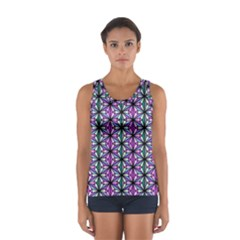 Geometric Patterns Triangle Seamless Sport Tank Top
