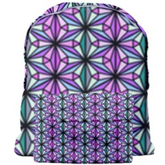 Geometric Patterns Triangle Seamless Giant Full Print Backpack