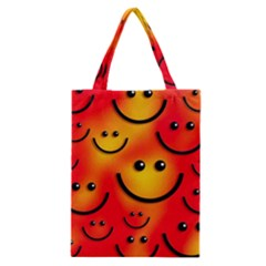 Smile Smiling Face Happy Cute Classic Tote Bag