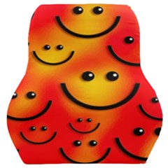 Smile Smiling Face Happy Cute Car Seat Back Cushion