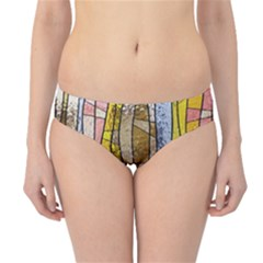 Stained Glass Window Colorful Hipster Bikini Bottoms