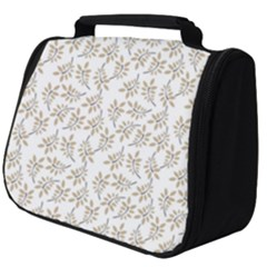 Just Leaves Full Print Travel Pouch (big) by TimelessFashion
