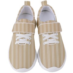 Nice Stripes  Women s Velcro Strap Shoes by TimelessFashion