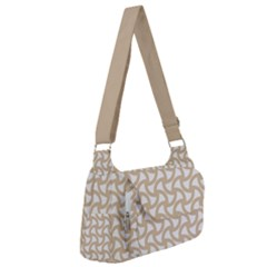 Odd Shaped Grid  Post Office Delivery Bag by TimelessFashion