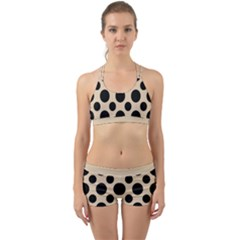 Polka Dots  Back Web Gym Set by TimelessFashion