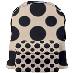Polka Dots  Giant Full Print Backpack