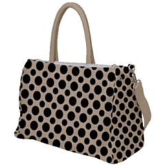 Polka Dots  Duffel Travel Bag by TimelessFashion