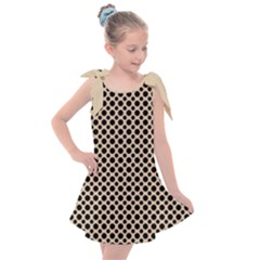 Polka Dots  Kids  Tie Up Tunic Dress by TimelessFashion