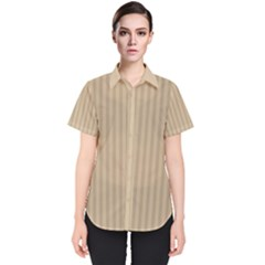 Simple Stripes Women s Short Sleeve Shirt by TimelessFashion