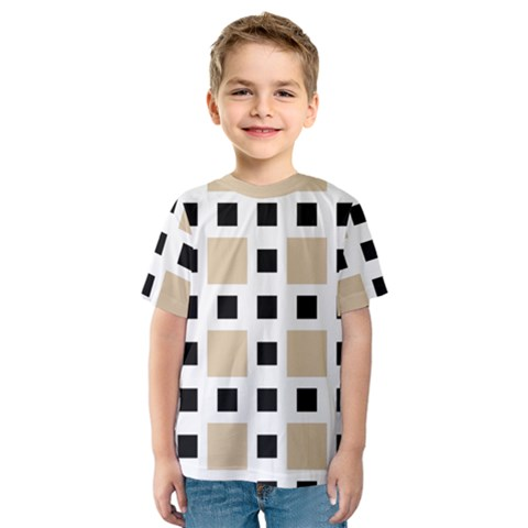 Squares On A Mission Kids  Sport Mesh Tee by TimelessFashion