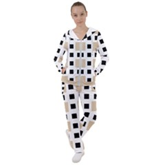Squares On A Mission Women s Tracksuit