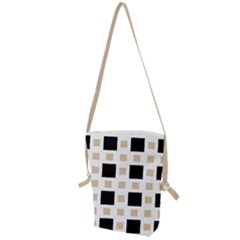 Squares On A Mission Folding Shoulder Bag