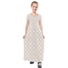 The Web  Kids  Short Sleeve Maxi Dress by TimelessFashion