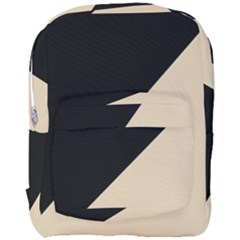 Two Triangles Full Print Backpack