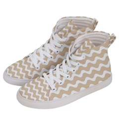 Waves  Women s Hi-top Skate Sneakers by TimelessFashion